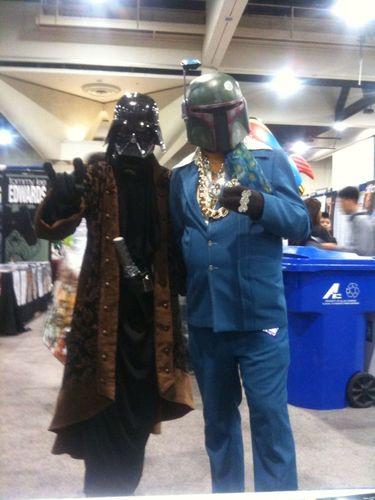 Stylin Vader n' Boba